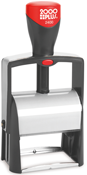 The 2000 Plus Classic Line 2400 Stamp works great for your heavy duty stamping needs with the no slip base and reinforced frame. No sales tax ever.
