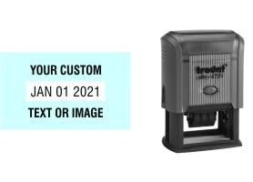 Trodat Printy 4729 date stamps made daily online. Free same day shipping. Excellent customer service. No sales tax - ever.