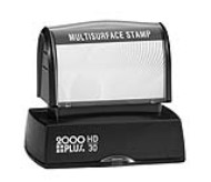 The HD 30 Stamp is the perfect size for your stamp needs, from address stamps to bank endorsement stamps. No sales tax ever!