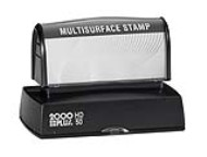 The HD 50 Stamp is the perfect size for your larger sized stamp needs. No sales tax ever.