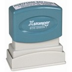 After Entering your bills, the Xstamper Dave Anderson 2 Stamp easily Marks them, letting you Spend faster and getting them back into the wild.