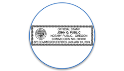 Oregon Notary Seals