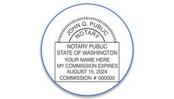 Washington Notary Seals