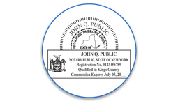 New York Notary Seals