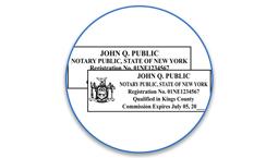 New York Notary Seals