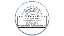 Idaho Notary Seals