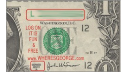Where's George Rectangle Stamps