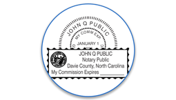 North Carolina Notary Seals