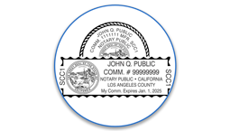 California Notary Seals