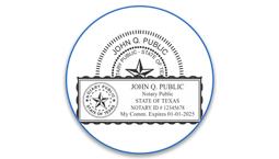 Texas Notary Seals