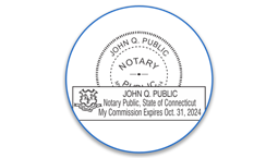 Connecticut Notary Seals