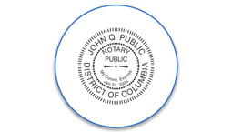 Dist. of Columbia Notary Seals
