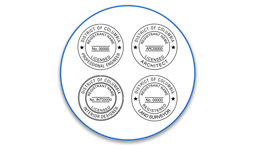 Dist. of Columbia Professional Seals
