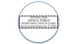 Illinois Notary Seals