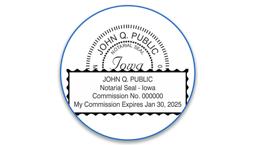 Iowa Notary Seals