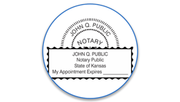 Kansas Notary Seals