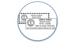Kentucky Notary Seals