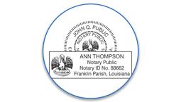 Louisiana Notary Seals