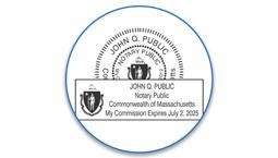 Massachusetts Notary Seals