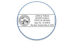 Nevada Notary Seals