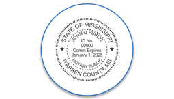Mississippi Notary Seals