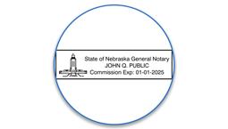 Nebraska Notary Seals