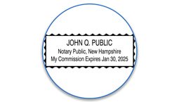 New Hampshire Notary Seals