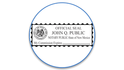 New Mexico Notary Seals