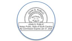 South Carolina Notary Seals