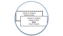 South Dakota Notary Seals