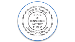 Tennessee Notary Seals