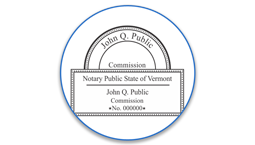 Vermont Notary Seals