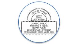 Virginia Notary Seals