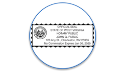 West Virginia Notary Seals