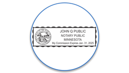 Minnesota Notary Seals