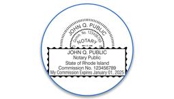 Rhode Island Notary Seals