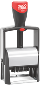 The 2000 Plus 2660 Self-Inking Date Stamp from Stamp-Connection is light-weight and perfect for fast, repetitive stamping.No sales tax ever.
