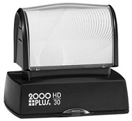 The HD 30 Stamp is the perfect size for your stamp needs, from address stamps to bank endorsement stamps. Free same day shipping. Excellent customer service. No sales tax - ever.