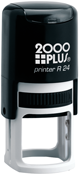 2000 Plus Printer R24<br>Round Self-Inking Stamp