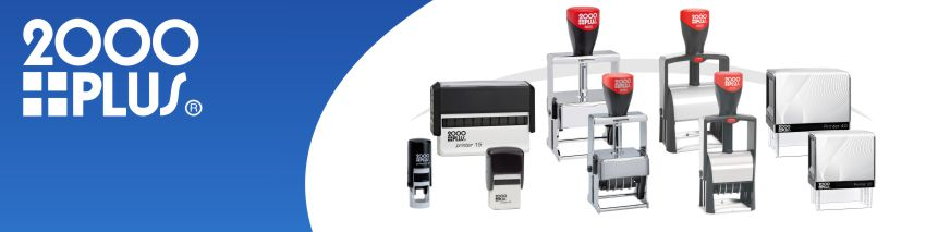 Order Now! 2000 Plus Brand Self-Inking Stamps in all shapes, sizes, and configurations. Plastic, metal, custom text, and daters. Free Shipping. No Sales Tax - Ever!