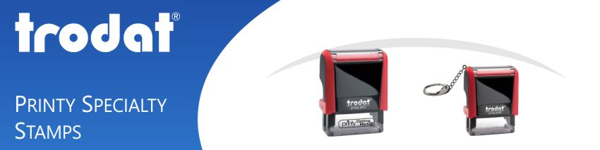 Order Now! Trodat Specialty Self-Inking Rubber Stamps made and shipped daily at Stamp-Connection.
