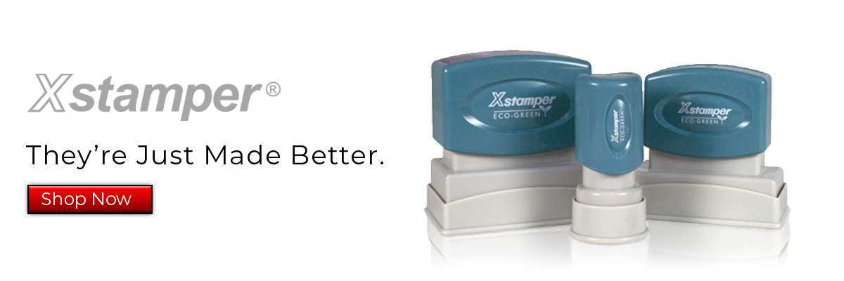 X-Stamper - They're Just made better.