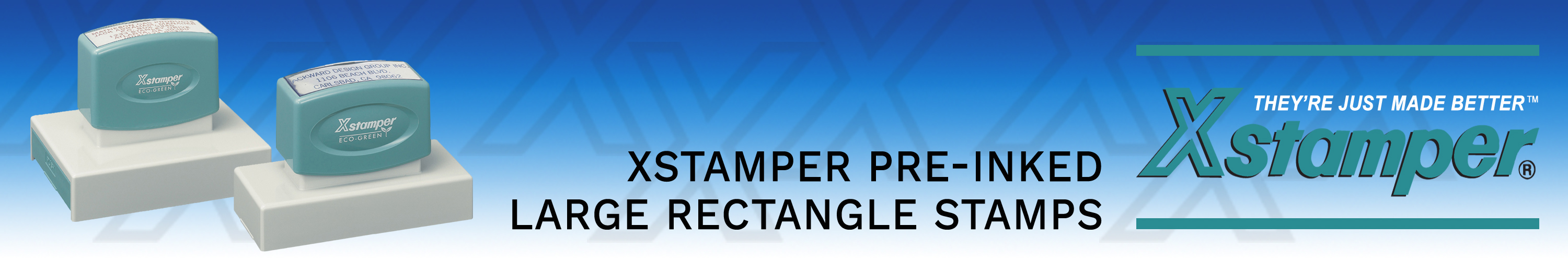 Xstamper Stock Stamps