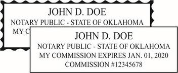 Oklahoma Notary Seals Made Daily Online