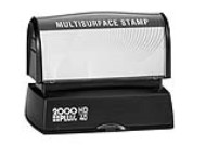 The HD 40 Stamp is the perfect size for your stamp needs, from address stamps to bank endorsement stamps. No sales tax ever.