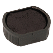 Order Now! 2000 Plus Printer R12 round stamp replacement pad. 1/2 inch diameter. Free Shipping! No sales tax - ever!