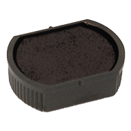 Order Now! 2000 Plus Printer R17 round stamp replacement pad. 3/4 inch diameter. Free Shipping! No sales tax - ever!