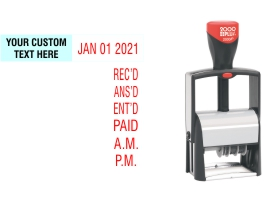2000 Plus 2000/P local date stamps made daily online. Free same day shipping. Excellent customer service. No sales tax - ever.