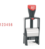 The 2000 Plus 2006 6 Band Number Stamp makes the repetitive task of numbering things quick and easy. Free Shipping. No sales tax - ever!