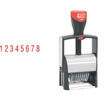 Order Now! 2000 Plus Classic Line 8 Band Number Stamp makes the repetitive task of numbering things quick and easy. Free Shipping. No Sales Tax - Ever!